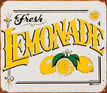 Sweet image with lemonade signs printable