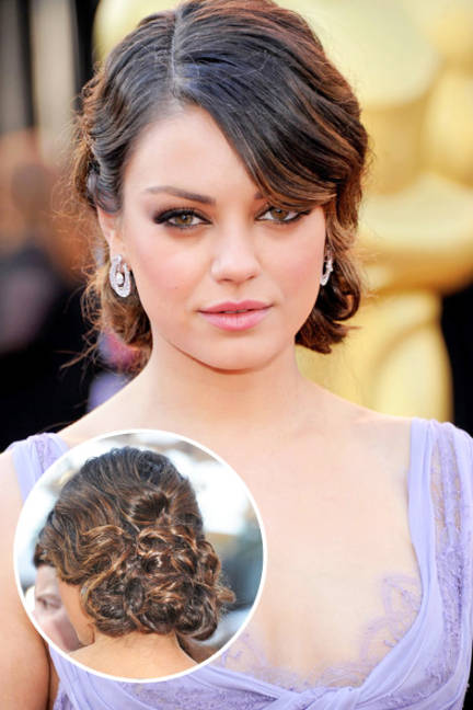Celebrity Style Inspiration - Best Celebrity Up Do's
