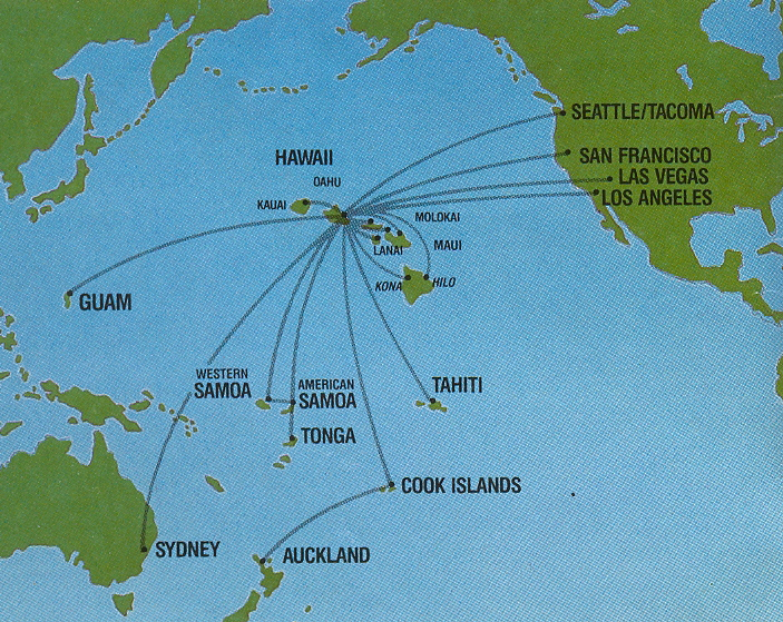 The timetablist hawaiian airlines routes 1990 hawaiian airlines routes 1990 gumiabroncs Gallery