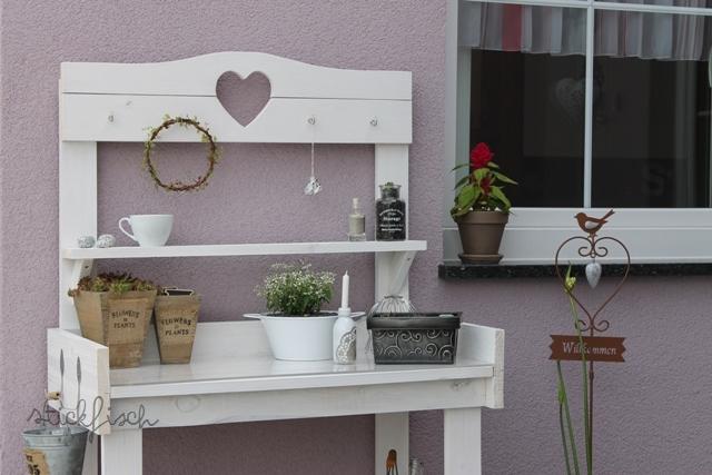 mein deko pflanztisch kata. Black Bedroom Furniture Sets. Home Design Ideas