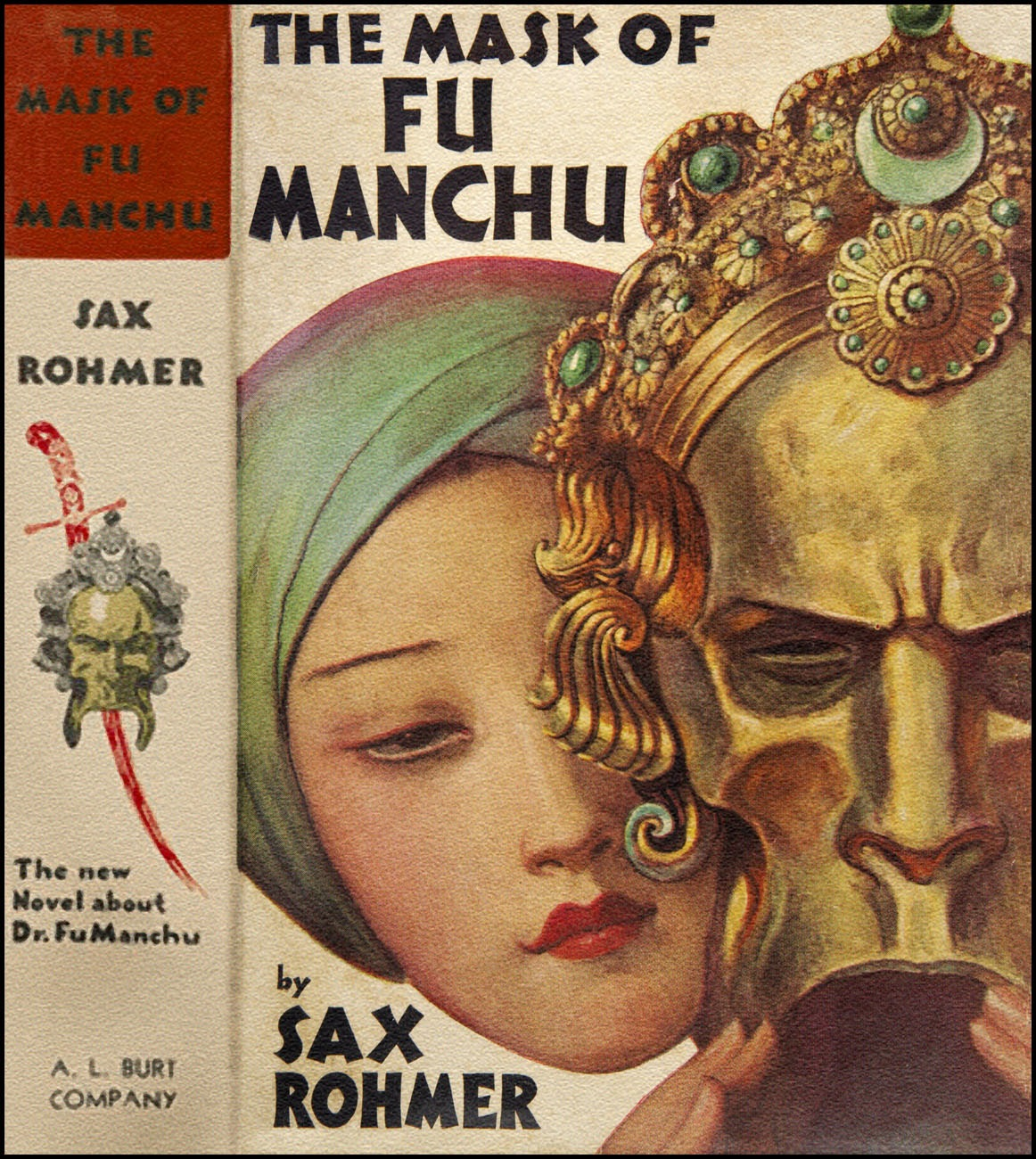 VINTAGE BLOG: Wladyslaw Theodor Benda : The Mask of Fu Manchu 1932