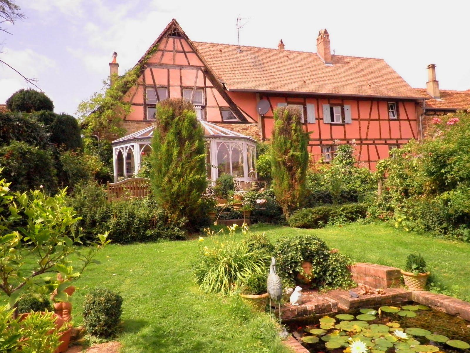 Charlotte Boxon Jardin merveilleux au pays du Kougelhopf