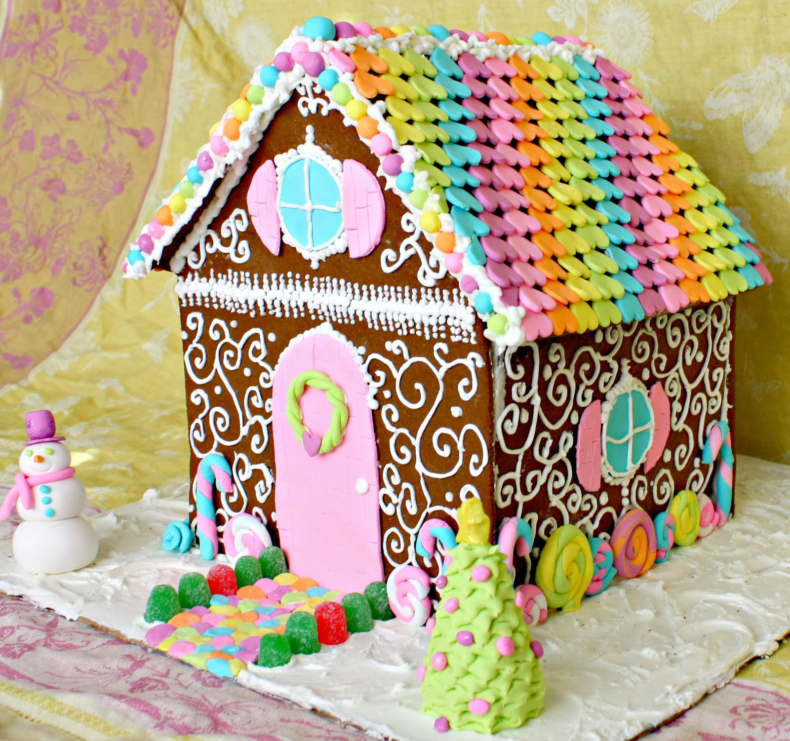 Gingerbread Houses Have Always Had Two Speeds For Me: Those Kit Things You  Get From Places Like Target, Or Those Impossibly Detailed Ones Like Martha  ...