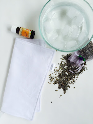 ways to stay cool this summer uses for lavender face cloths