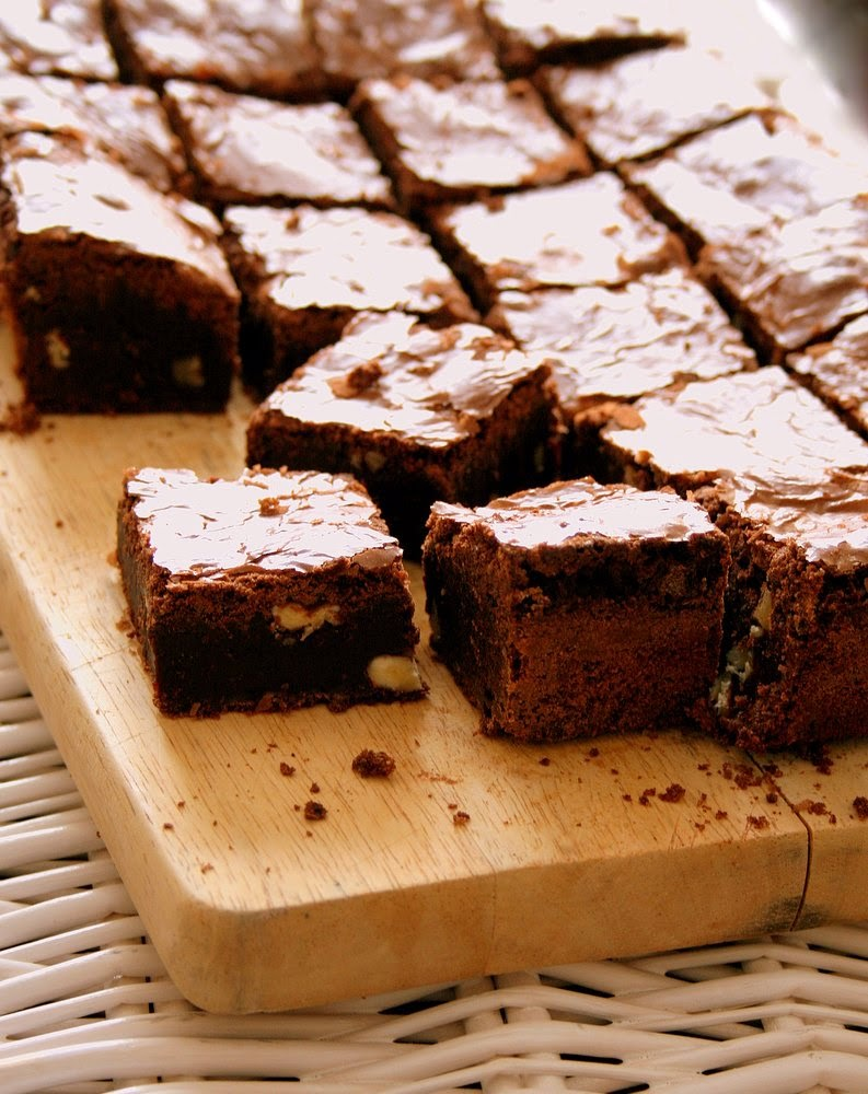 Cupcakes & Couscous: Double Chocolate Brownies & a chat with Sam ...