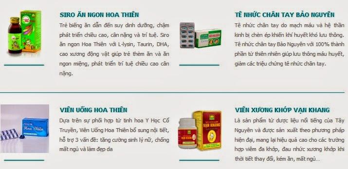 Hỏi về thuốc trị đau nhức xương khớp Hoa Thiên Phú