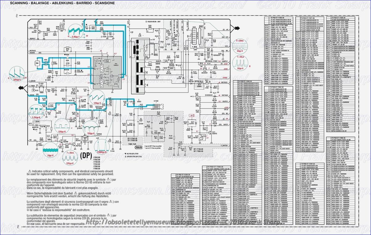 Obsolete Technology Tellye !: THOMSON 28DG22C BLACKPEARL (413 ...