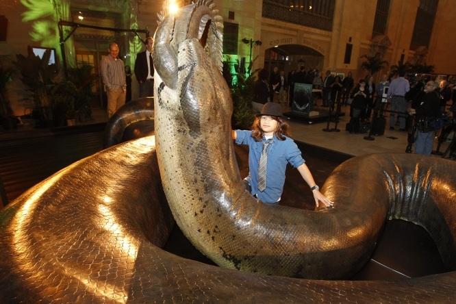 Realizan una recreación de Titanoboa, la serpiente mas grande del