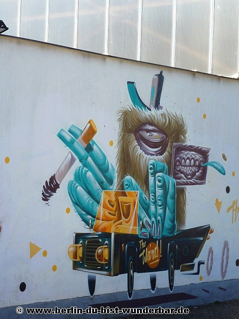 berlin, streetart, graffiti, kunst, stadt, artist, strassenkunst, murals, werk, kunstler, art, hrvb the weird