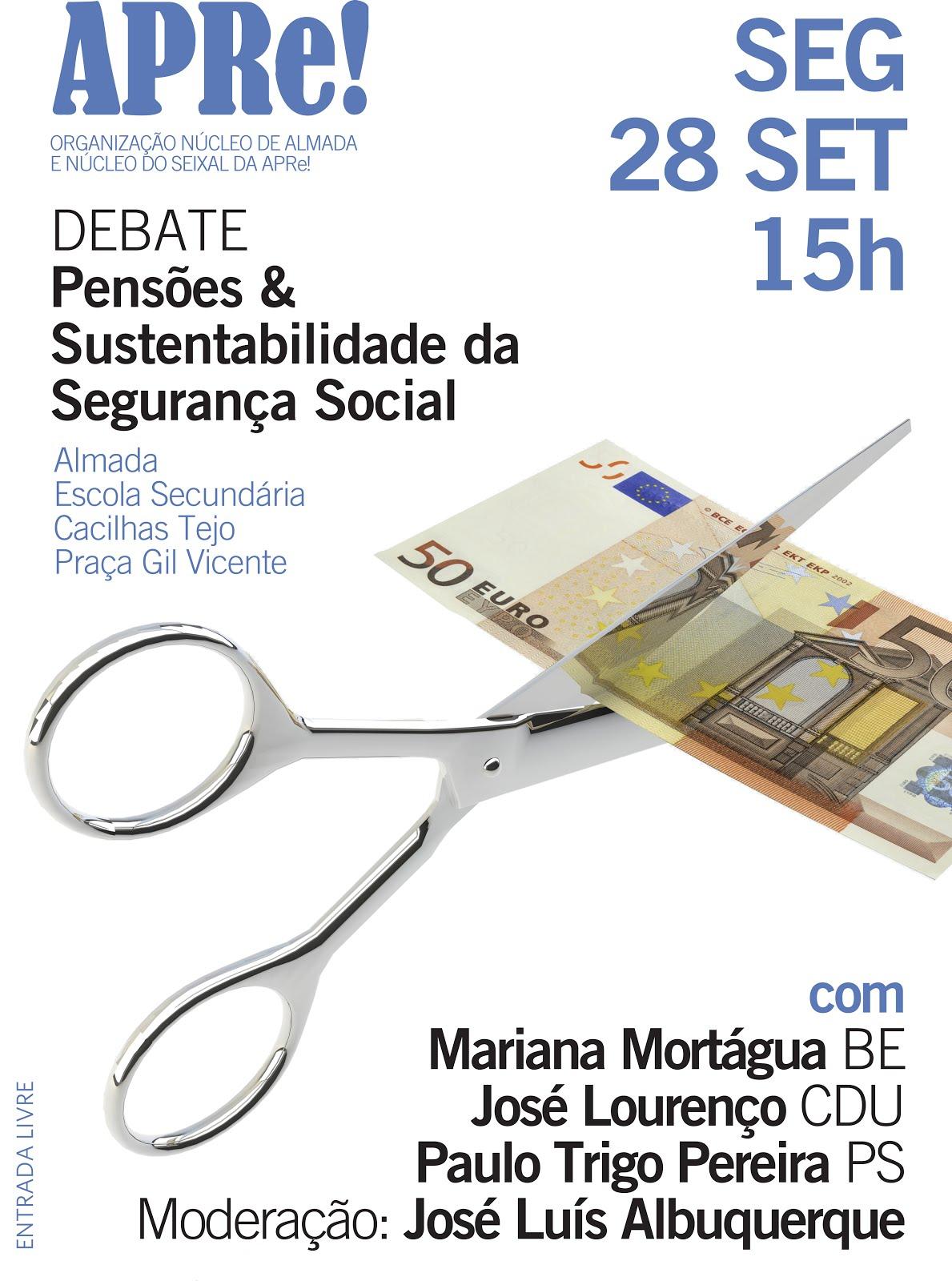 Sessão pública de debate promovida pela APRe! em Almada