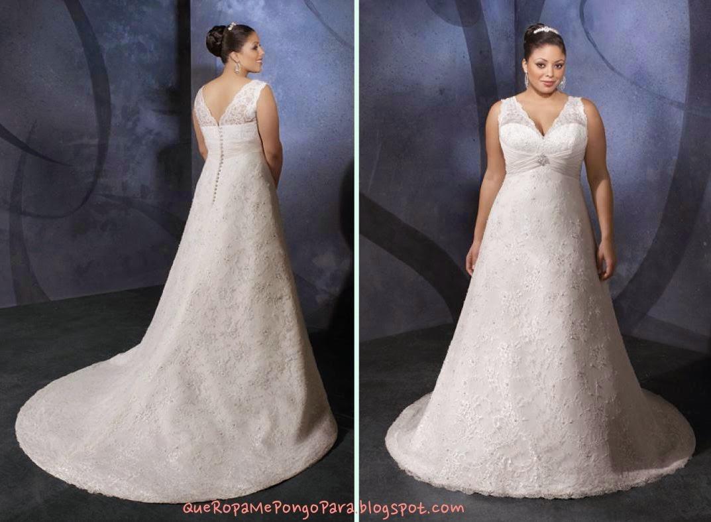 matrimonio MODELOS DE VESTIDOS DE NOVIA PARA GORDITAS - Que ropa me pongo para mi boda