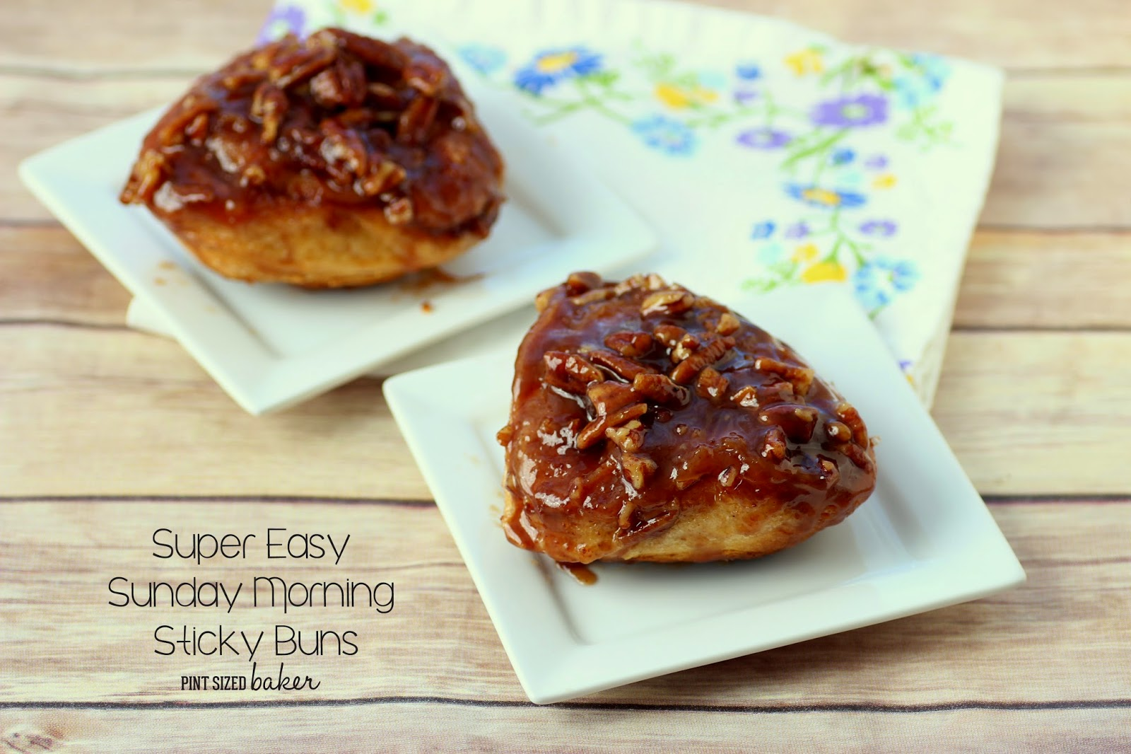 Ooey Gooey Sticky Buns - from the fridge to your belly in under an hour!
