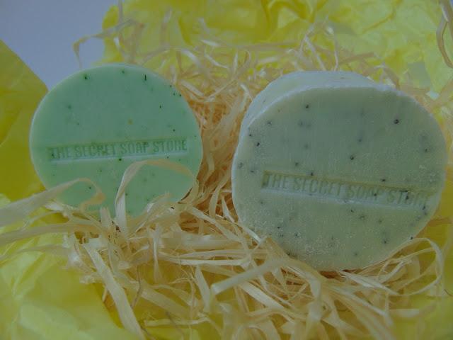 The Secret Soap Store - Mydła do ciała - Ogórek z koperkiem i Bergamotka z makiem