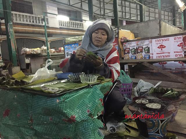 Chiang Rai Market, pan cake