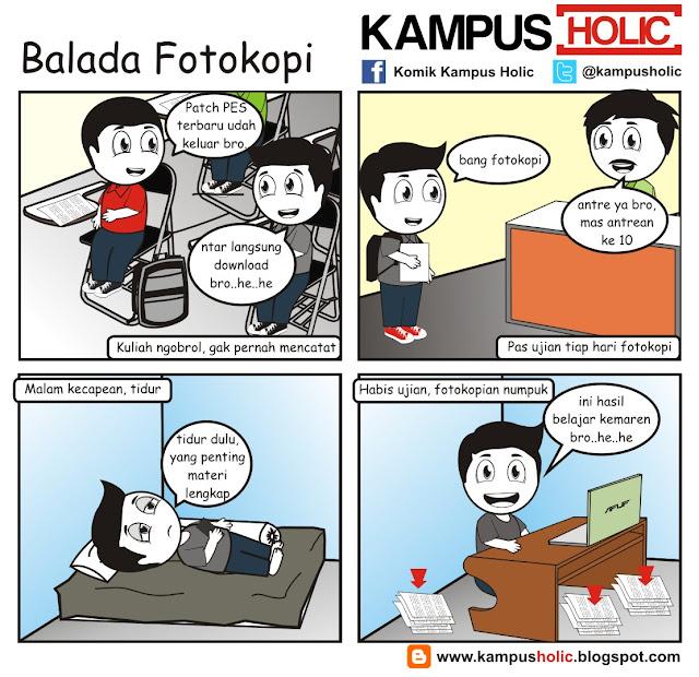 #140 Balada Fotokopi mahasiswa kampus