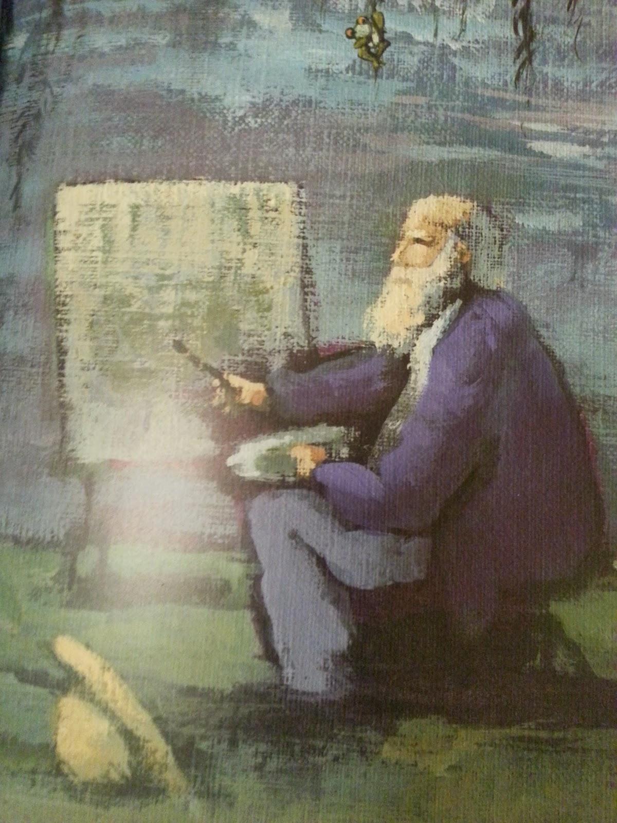 Cuentos y m s cuentos talleres de arte monet y el jard n for Jardin acuatico