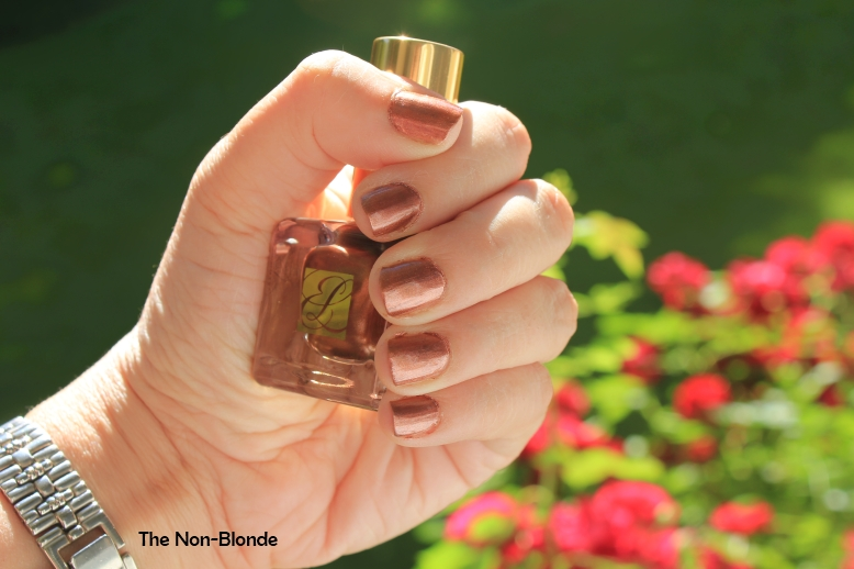 Estee Lauder Shimmering Bronze Pure Color Nail Lacquer (Summer