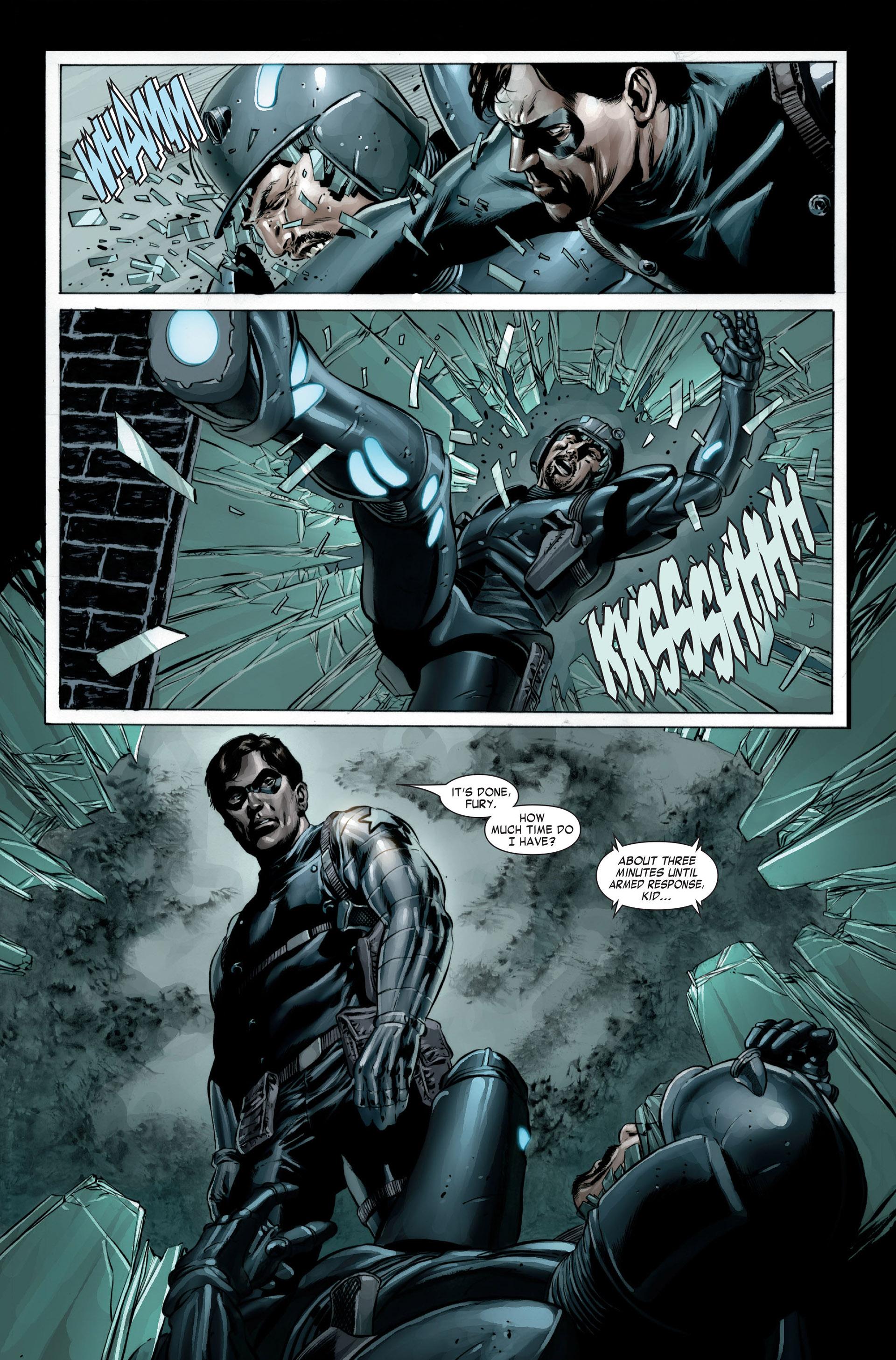 Captain America (2005) Issue #23 #23 - English 20