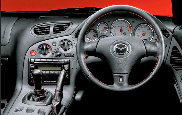 2017 Mazda RX7 Interior