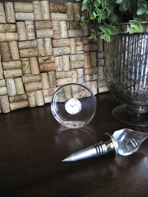 sew many ways tool time tuesday wine cork backsplash