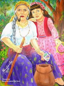 Dona Sulamita e ciganinha Maria Rosa