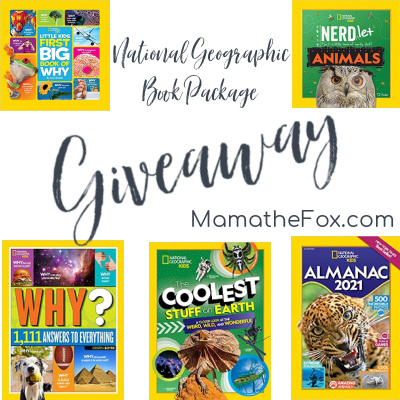 National Geographic Book Package Giveaway