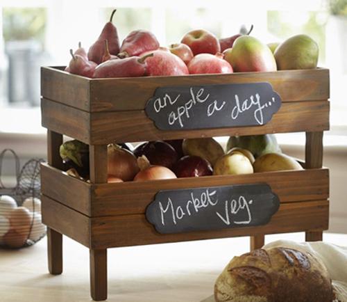 Un toque vintage reutilizar cajas viejas de madera - Cajas de fruta decoracion ...