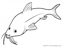 Realistic Fish Coloring Pages Printable