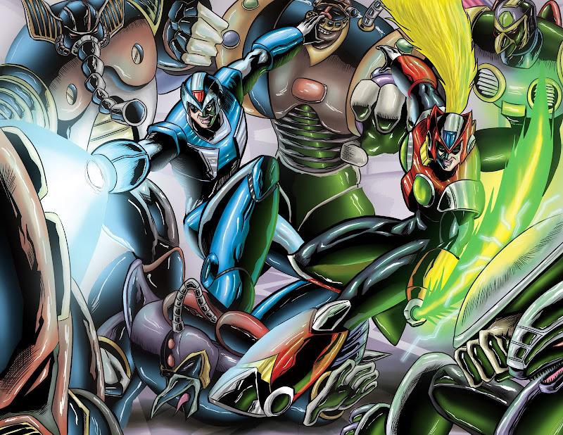 Megaman Tribute title=