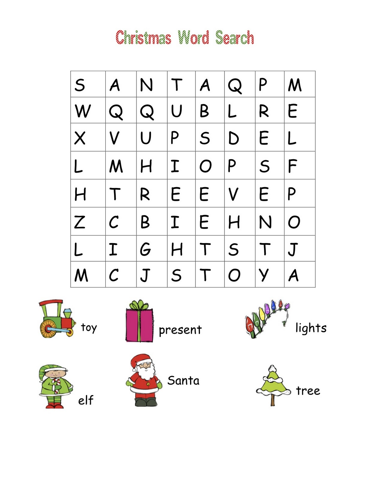 Classroom Freebies: Christmas Word Searches!