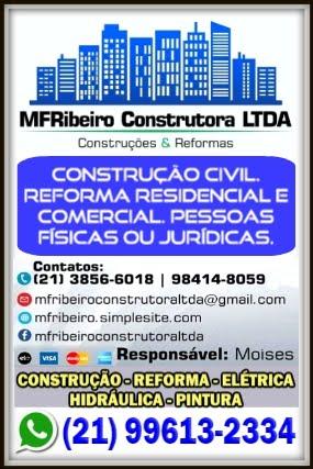 MF RIBEIRO CONSTRUÇÕES