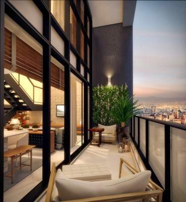 apto com terraço 1 dormitório campo belo