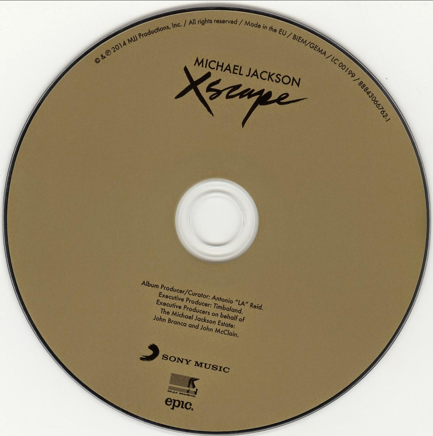 Michael Jackson - Xscape - CD bmpXscape Michael Jackson Deluxe