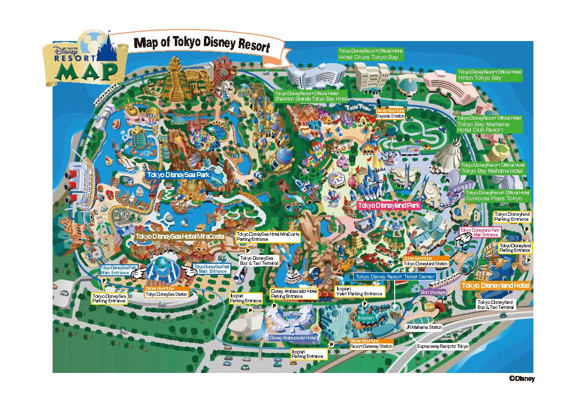 Young dumb and fun the magic of disneyland tokyo japan disneyland tokyo map of the park gumiabroncs Choice Image