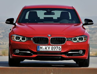 2013 BMW 3-Series Front