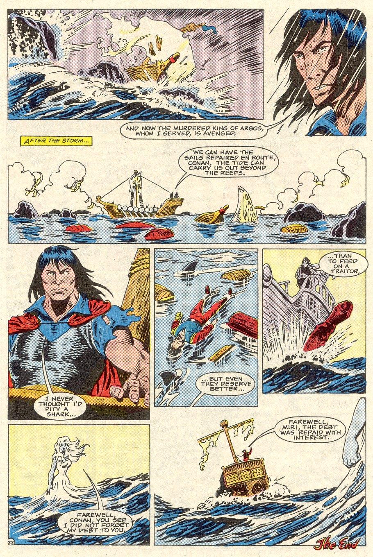 Conan the Barbarian (1970) Issue #186 #198 - English 24