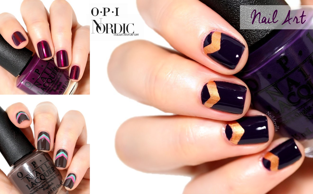 Nordic Collection by OPI - Nail Art - Nailderella