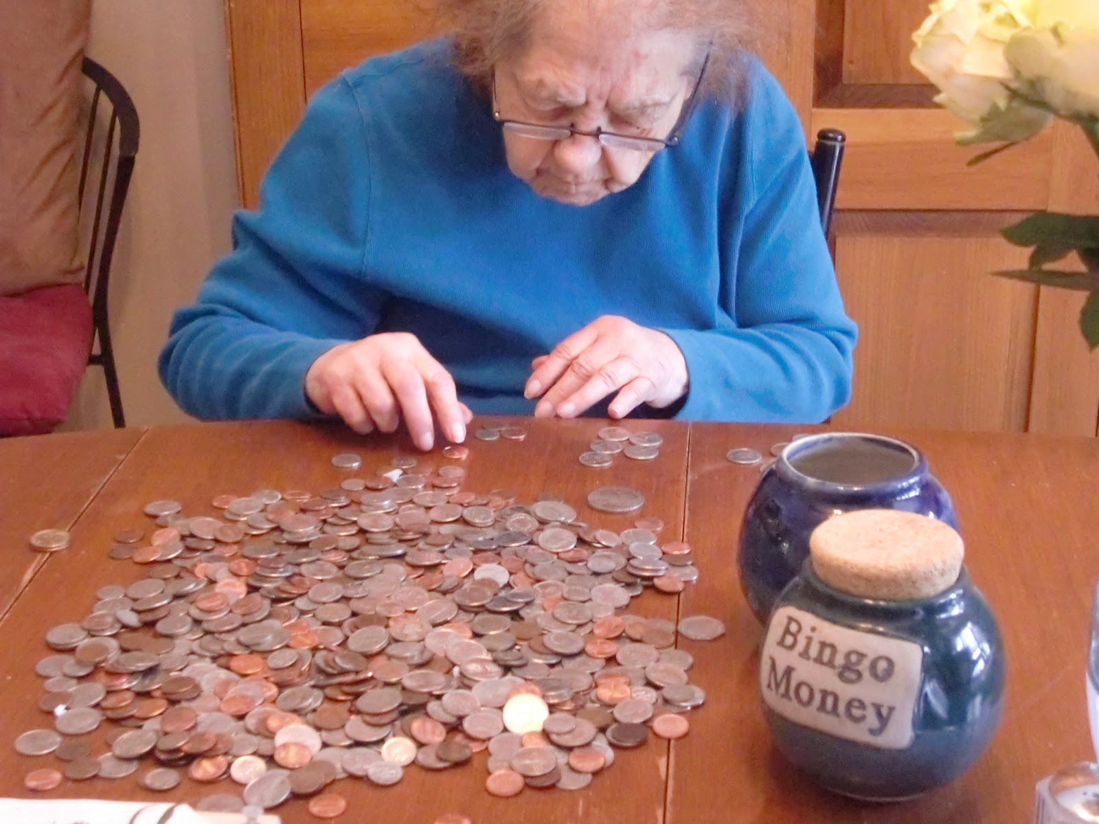 worksheet Counting Change bingo mom busy counting her money change jar