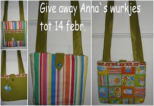 Anna's Wurkjes giveaway