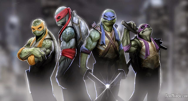 Ninja Rùa heyphim teenage mutant ninja turtles by nebezial