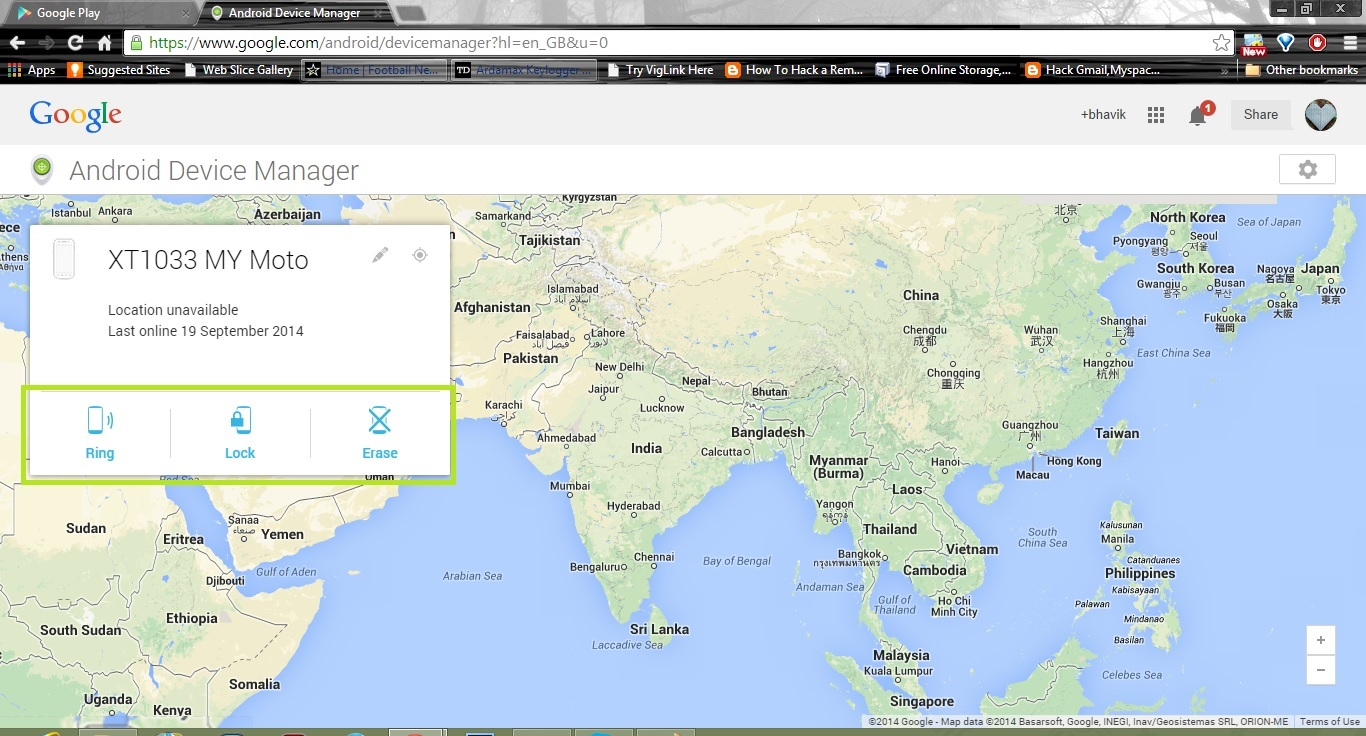 Track your lost Android Smartphone without any third party app 2