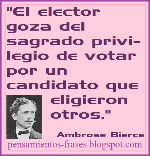 frases de Ambrose Bierce