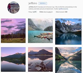 Jeff Biro, ciekawe profile podróżnicze
