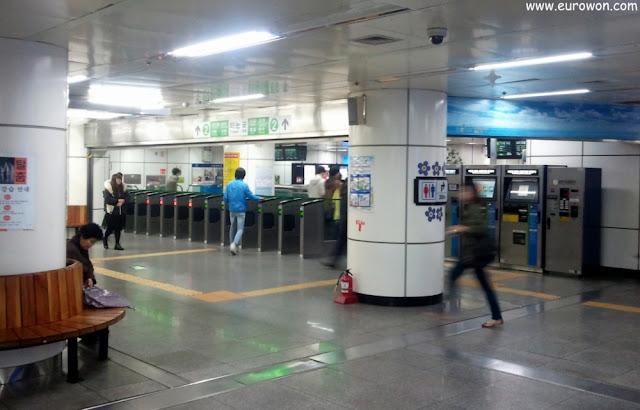 El metro de Seúl es casi como mi segundo hogar