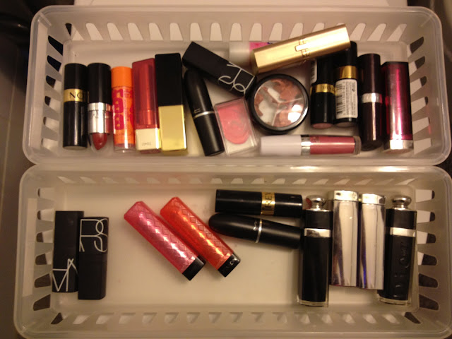 Lipstick Collection and Storage