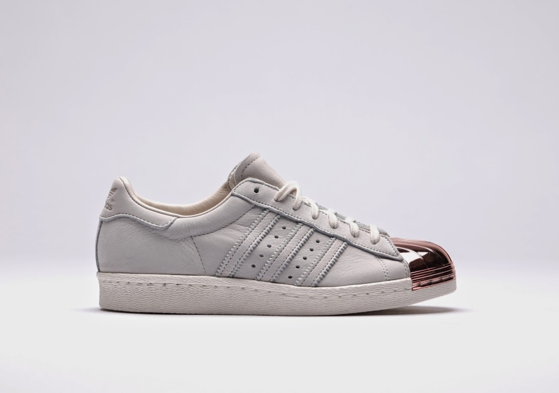 "adidas Originals Superstar 80s WMNS ""White/Copper"""