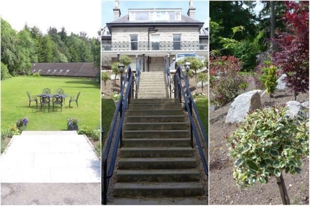 Exterior y jardines, Tornacoille en Banchory