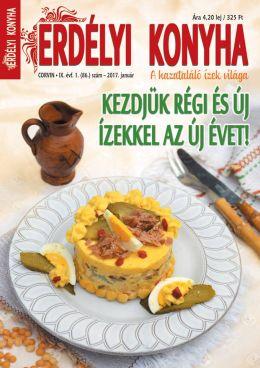 ERDÉLYI KONYHA - A JANUARI LAPSZÁM!!!