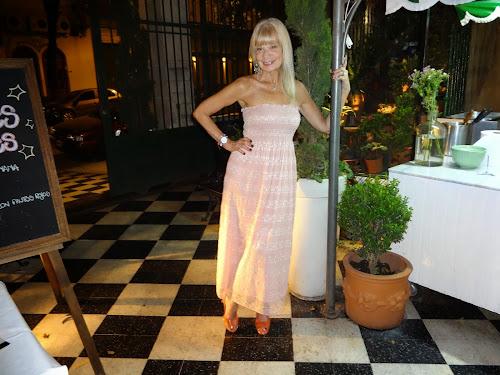Grace en el Resto Museo Evita