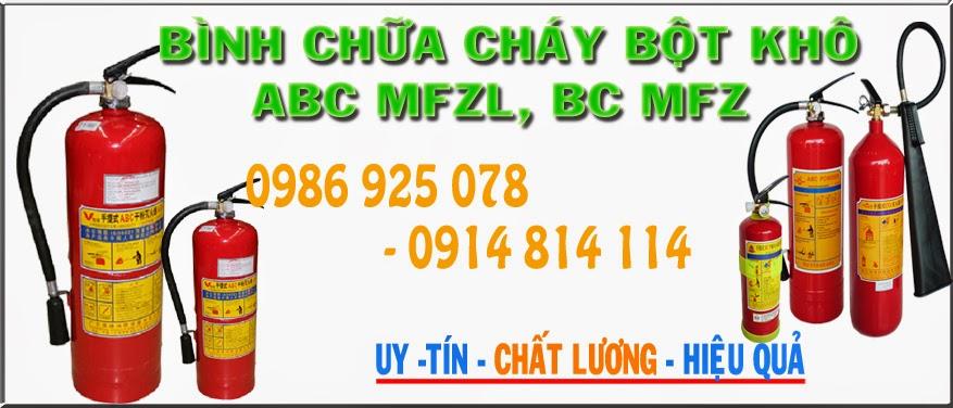 Binh chua chay MFZ8